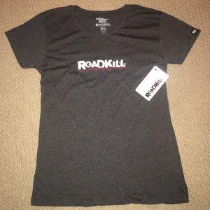 Roadkill Shirts - Roadkill T-shirt + hats. L 4ea4d1a1c0e1